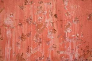 bunte Muster und Texturen der alten Zementmauer für den Hintergrund foto
