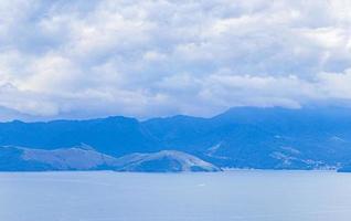 Panoramablick von Ilha Grande Portogalo Macieis Verolme Brasilien. foto