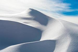 Schneedüne foto
