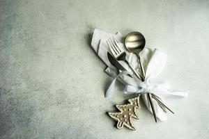 Weihnachtsessen foto