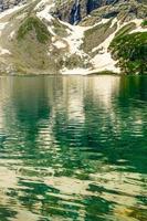 katora see kumrat tal schöne landschaft bergblick foto