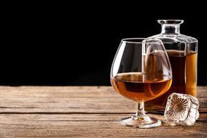 Cognac- oder Whiskygetränk foto