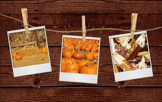 Bilder von fallenden Bildern, die an einem Seil hängen foto