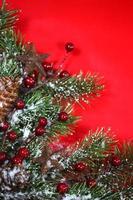 Weihnachtsfeiertag Hintergrundbild zum Hinzufügen von Text foto