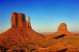Schönes Monument Valley Utah USA foto