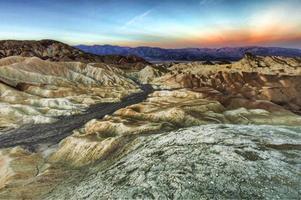 schöne Landschaft im Death Valley Nationalpark, Kalifornien? foto