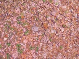Bodenbeschaffenheit im Freien foto