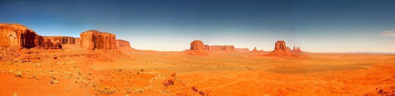 Hochauflösendes Bild des Monument Valley arizona foto