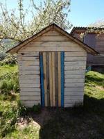 kleines Holzhaus foto