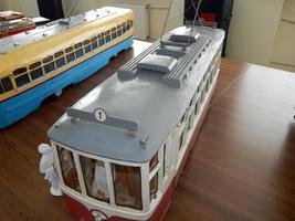 Modelle von Oberleitungsbussen, Modelle von elektrischem Stadtverkehr foto
