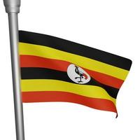 uganda nationaler tag foto