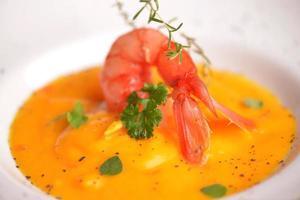 würzige Suppe foto