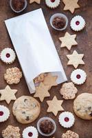 Kekse und Süßigkeiten foto