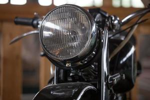altes Motorrad foto