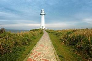 der Weg zum Leuchtturm foto