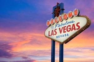 Willkommen im fabelhaften Las Vegas Zeichen