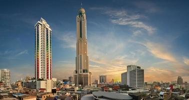 Stadtbild von Bangkok foto