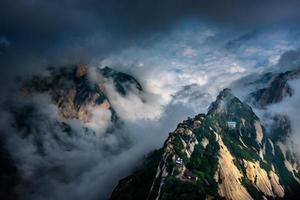 Mount Hua, Hua Shan, Xian, China foto