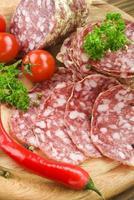 italienische Salami foto