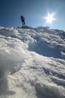 Bergsteigen foto
