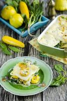 Gemüse Lasagne foto
