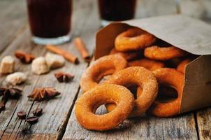 Kürbis Donuts foto