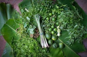 Zutaten für thailändisches Essen