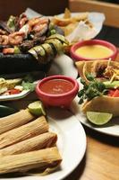 mexikanisches Essen - vertikal
