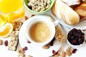 gesundes Frühstück foto