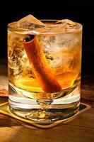Cocktail mit Whisky foto