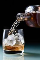 Glas mit Whisky