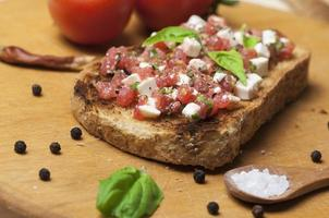 italienische bruschetta foto