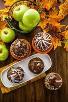 Karamell Äpfel foto