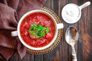 Borschtschsuppe foto