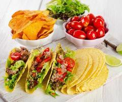 mexikanische Nahrung foto