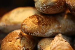 Baguette mit französischem Brot foto