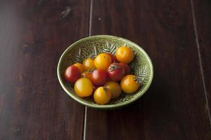 Schüssel Tomaten foto