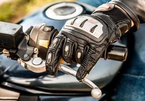 Motorradrennhandschuhe foto