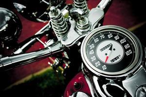 Motorradgeschwindigkeit