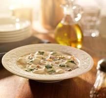 Hühnchen-Gnocchi-Suppe foto