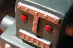 Spielzeugroboter foto
