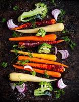 Gemüse zum Braten foto