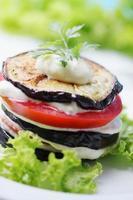Gemüse mit Sauce foto