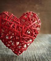 Valentinstag Hintergrund mit Herzen. foto