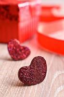 Komposition zum Valentinstag foto
