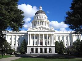 Kalifornien State Capitol Gebäude foto