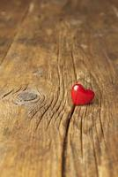 Valentinstag, rotes Herz foto