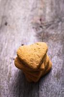 Kekse in Form eines Herzens foto