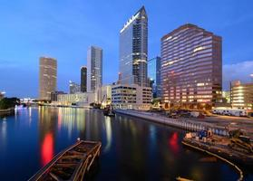 Skyline von Tampa foto