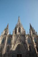 gotische Kathedrale von Barcelona foto